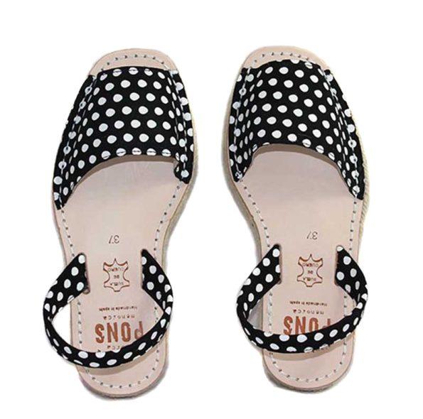 women avarca platform polka dots