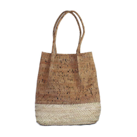 palmetto and cork bag