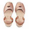 menorcan woman sandal pink