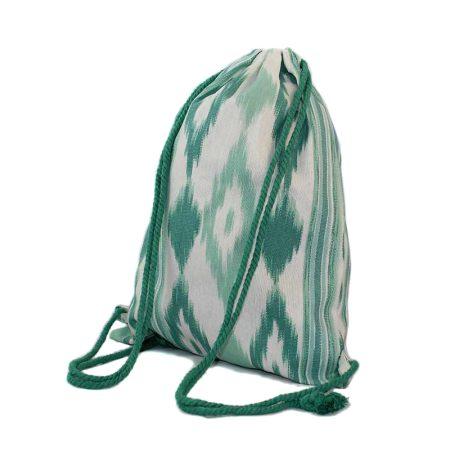 Handgemachte Tasche aus Zungentuch