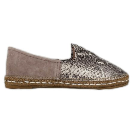 Jute espadrille for woman